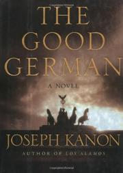 Cover art for THE GOOD GERMAN