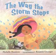 Cover art for THE WAY THE STORM STOPS