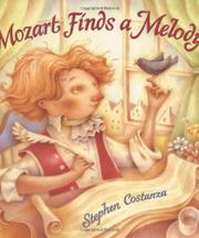 Book Cover for MOZART FINDS A MELODY