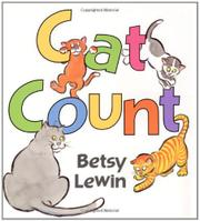 CAT COUNT by Betsy  Lewin