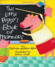 Cover art for THIS LITTLE PIGGY'S BOOK OF MANNERS