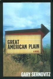 GREAT AMERICAN PLAIN by Gary Sernovitz