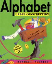 Cover art for ALPHABET UNDER CONSTRUCTION