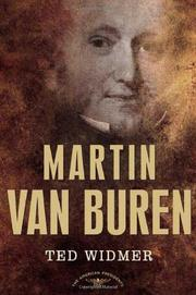 Cover art for MARTIN VAN BUREN