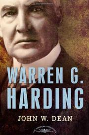 WARREN G. HARDING by John Dean