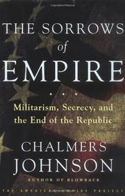 Cover art for THE SORROWS OF EMPIRE