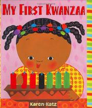 MY FIRST KWANZAA by Karen Katz