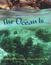 THE OCEAN IS... by Kathleen W. Kranking
