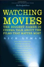 WATCHING MOVIES by Rick Lyman