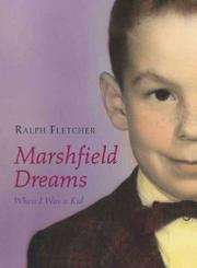 Cover art for MARSHFIELD DREAMS