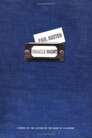 Cover art for ORACLE NIGHT