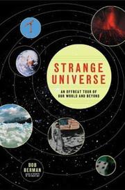 STRANGE UNIVERSE by Bob Berman