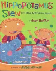 Book Cover for HIPPOPOTAMUS STEW