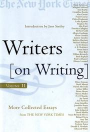 WRITERS ON WRITING, VOL. II by Eds. of New York Times