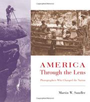 Cover art for AMERICA THROUGH THE LENS