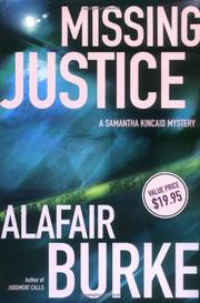 MISSING JUSTICE by Alafair Burke