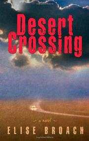 Cover art for DESERT CROSSING