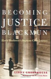 Cover art for BECOMING JUSTICE BLACKMUN