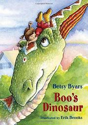 BOO'S DINOSAUR by Betsy Byars