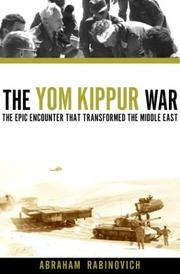 Cover art for THE YOM KIPPUR WAR