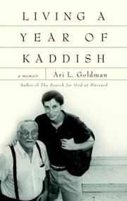 Book Cover for LIVING A YEAR OF KADDISH