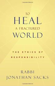 Book Cover for TO HEAL A FRACTURED WORLD