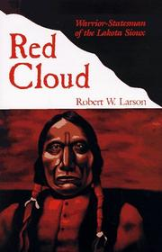 RED CLOUD by Robert W. Larson