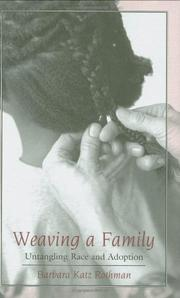 Cover art for WEAVING A FAMILY