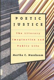 POETIC JUSTICE by Martha C. Nussbaum