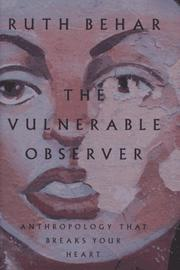 Book Cover for THE VULNERABLE OBSERVER