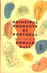 Book Cover for PRINCIPAL PRODUCTS OF PORTUGAL
