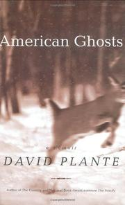 Book Cover for AMERICAN GHOSTS