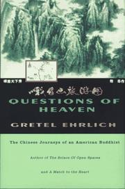 Book Cover for QUESTIONS OF HEAVEN