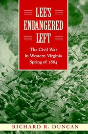 LEE'S ENDANGERED LEFT by Richard R. Duncan