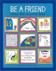 BE A FRIEND by Lori S. Wiener