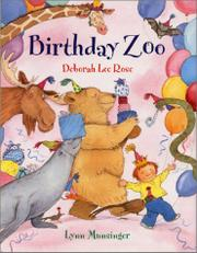Cover art for BIRTHDAY ZOO