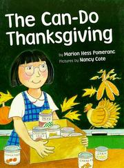 THE CAN-DO THANKSGIVING by Marion Hess Pomeranc