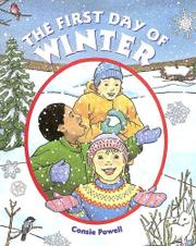 THE FIRST DAY OF WINTER by Consie Powell