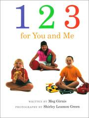 1,2,3 FOR YOU AND ME by Meg Girnis