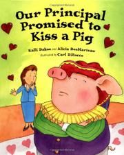 Cover art for OUR PRINCIPAL PROMISED TO KISS A PIG