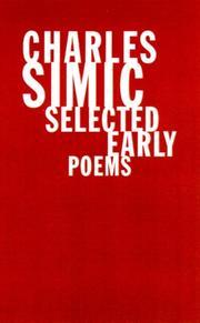 CHARLES SIMIC by Charles Simic