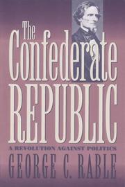 Book Cover for THE CONFEDERATE REPUBLIC