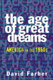 Cover art for THE AGE OF GREAT DREAMS
