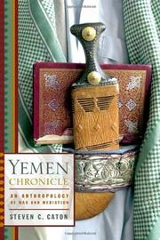 YEMEN CHRONICLE by Steven C. Caton