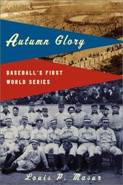 Cover art for AUTUMN GLORY