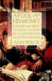 Book Cover for A FOOL AND HIS MONEY