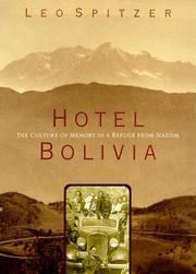 HOTEL BOLIVIA by Leo Spitzer