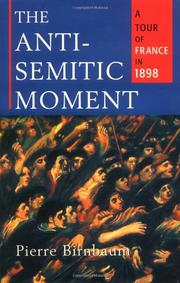 Cover art for THE ANTI-SEMITIC MOMENT