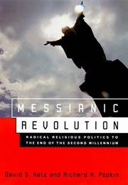 MESSIANIC REVOLUTION by David S. Katz