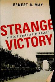 STRANGE VICTORY by Ernest R. May